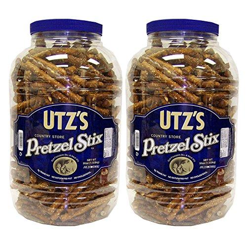 Utz Country Store Pretzel Stix Barrels 55 oz. (2 pk.) SCS