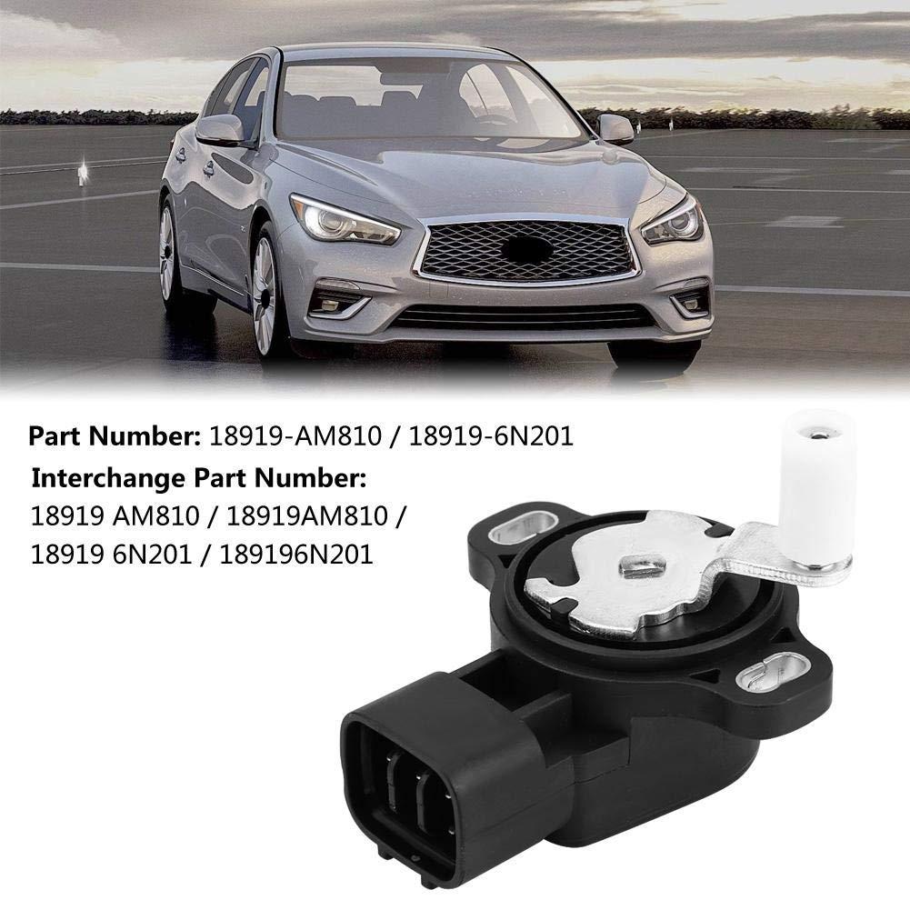 Cuque 18919-AM810 Accelerator Pedal Throttle Position Sensor for Nissan 350Z Infiniti G35//FX35//FX45 2003 2004 2005 2006 2007 2008 2009 Plastic Metal 18919-6N201