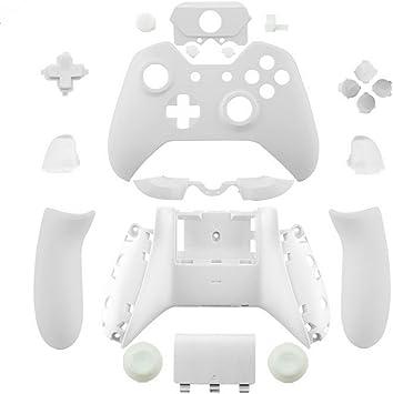 canamite Kit de piezas de repuesto carcasa completa funda protectora botón para mando de Xbox One Elite con 3,5 mm conector de auriculares: Amazon.es: Electrónica