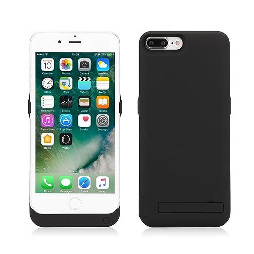 25 opinioni per Mbuynow iPhone 7 Plus Cover Batteria da 10000mAh Power Bank Batteria Maggiorata