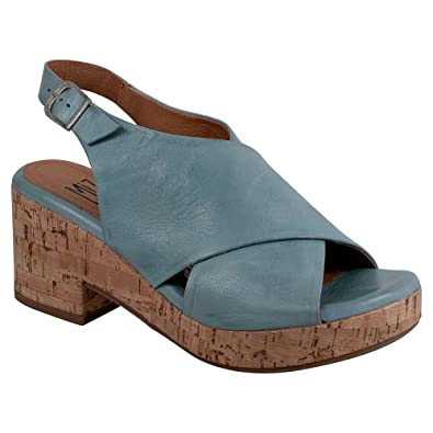 Miz Mooz Leather Wedge Sandals - Comet free shipping cheapest price discount geniue stockist For sale online recommend for sale 3LlHzs