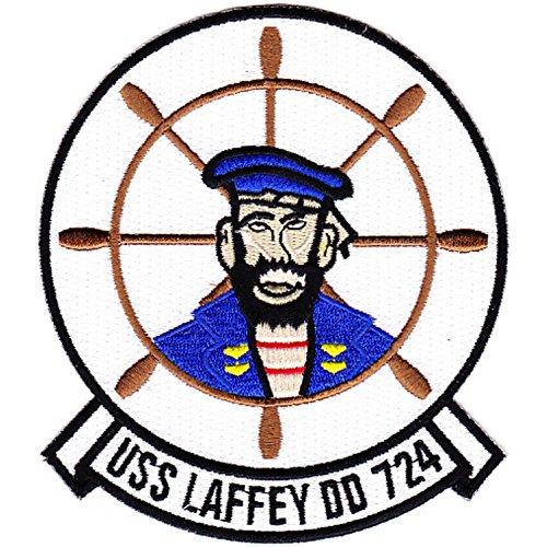 DD-724 USS Laffey Patch - Version A