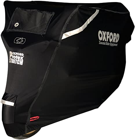 OXFORD PROTEX Housse de Protection pour Moto Noir Taille S