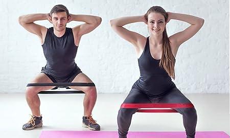5 Tubos de l/átex con Manijas Yoga Ancla de Puerta para Gimnasio en Casa HT TopHinon Bandas El/ásticas Correas de Tobillo Musculacion Bandas Fitness de Resistencia Pilates Terapia F/ísica