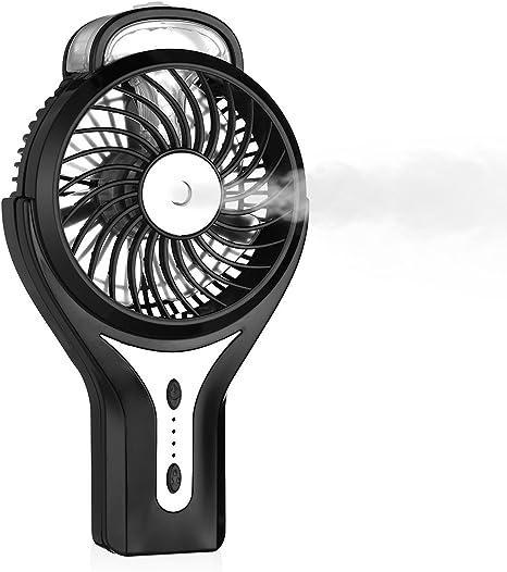 USB Ventilator mit 2 Motoren klappbar Klimaanlage mit wiederaufladbarem Akku NEU