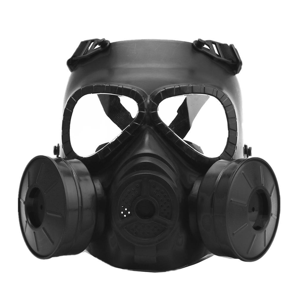 JUNERAIN M04 CS Field Faceguard Má scaras de Gas Protectoras Ajustables Resistentes a los Impactos