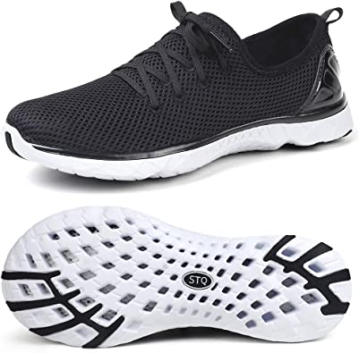 STQ Water Shoes for Men Quick Dry