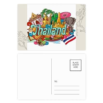 DIYthinker La tarjeta Gracias Grand Palace Tailandia ...