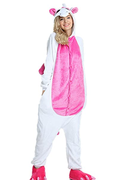 Kenmont Unicornio Juguetes y Juegos Animal Ropa de Dormir Cosplay Disfraces Pijamas para Adulto Niños (