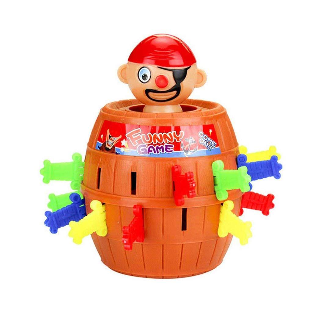 BIEE Pop up Pirate Hochwertiges Aktionsspiel Piratenspiel verfeinert die Geschicklichkeit Ihres Kindes