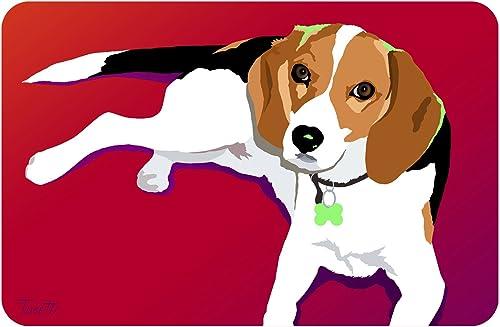 Novelty Tosetti Pet Mat, 18 by 27-Inch, Beagle-10
