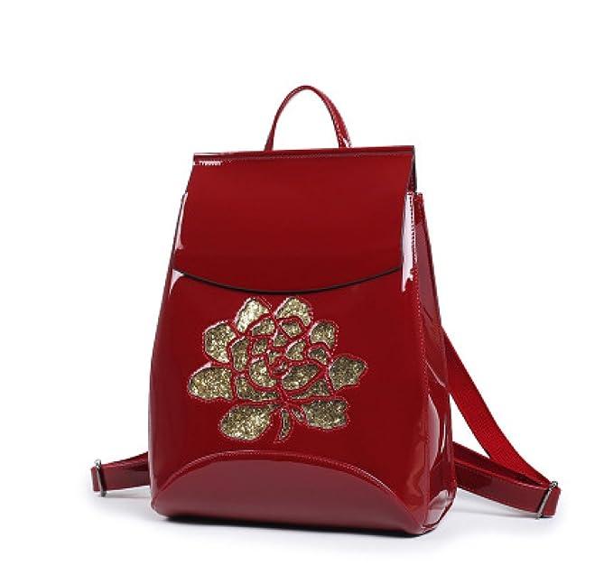 a5235fd8c28a0d Borsa Donna Vernice Sposa Zaino Fascia Alta Tracolla Multiuso Stereotipi  Borse Borsette: Amazon.it: Abbigliamento
