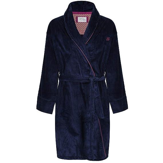 TED BAKER DAWLISH-UC8M-DRESSING GOWN - O/S, NAVY: Amazon.co.uk: Clothing