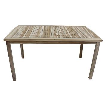 Amazonde Outliv Gartentisch Ontario Gartentisch 150x90cm Eco Teak