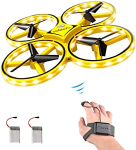 ForBEST Gesture Control Drone Rc Quadcopter Aircraft with Smart Watch Controlled Giveaway