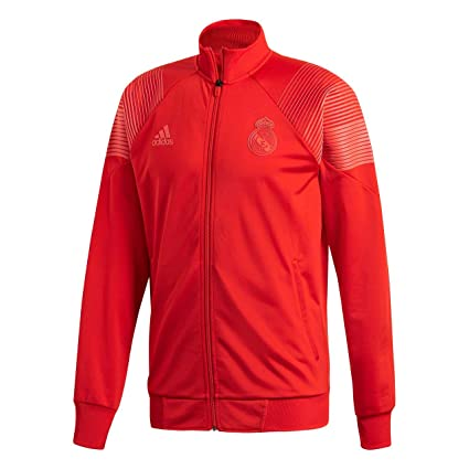 Amazon.com : adidas 2018-2019 Real Madrid Icon Track Top ...