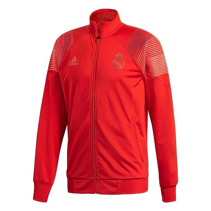 adidas Real LIC Top Vivid Red 18 19 Real Madrid  Amazon.es  Ropa y ... 0975e200dc920