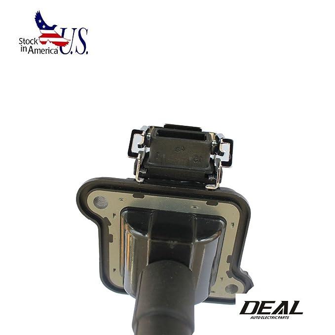 Deal - Juego de 4 bobinas de encendido para Audi Volkswagen uf290 1.8L L4 2,7 V6 TURBO 3.7L 4.2L V8 Audi A4 A6 A8 Quattro Passat: Amazon.es: Coche y moto