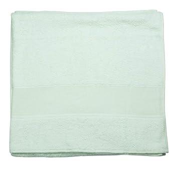 Toalla de rizo 100% algodón con tela aida Amarillo 100 x 150 cm: Amazon.es: Hogar