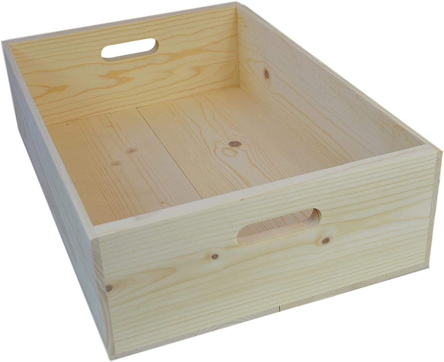 Wooden Wine Box 19 5x13 5x5 5 Inside Dimensions Brewing And Venting Racks And Storage Bar Tools Drinkware