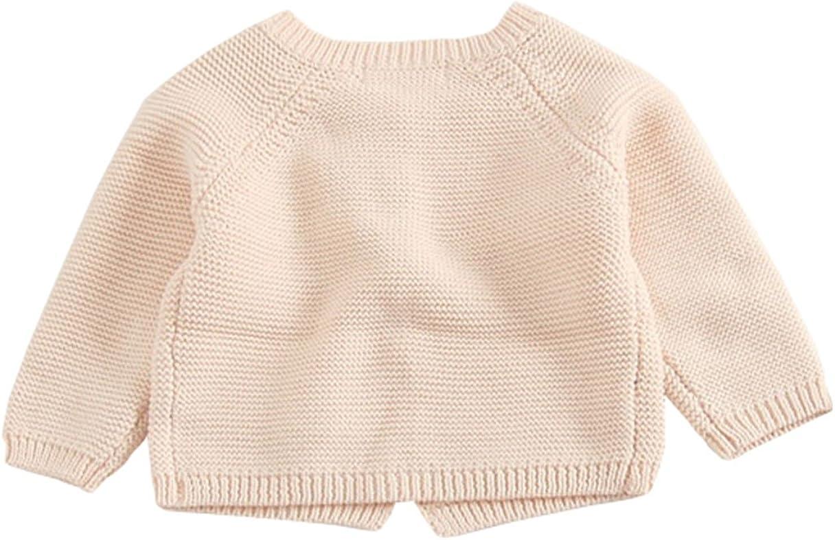 : TAIYCYXGAN Baby Girls Fine Knit Cardigan