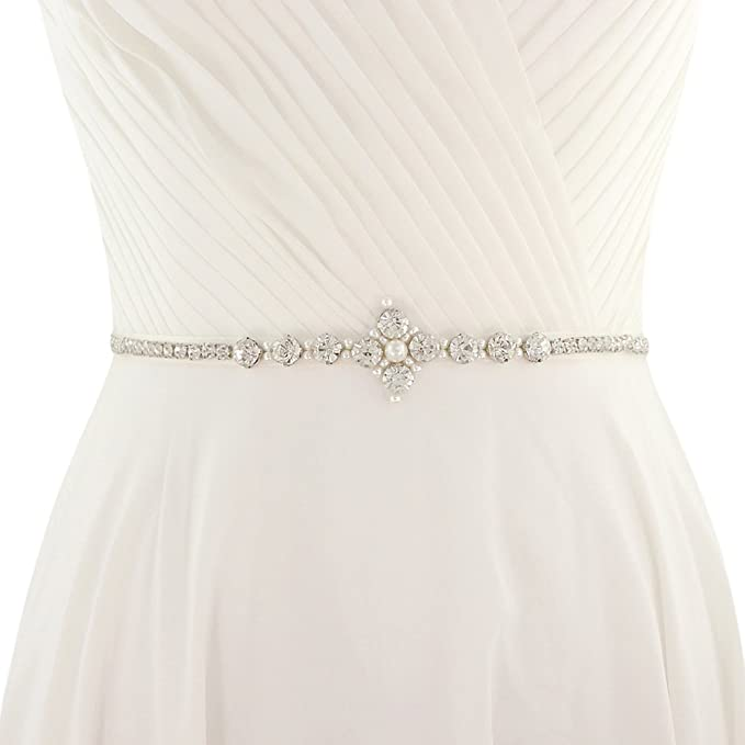 74f36746 Image Unavailable. Image not available for. Color: ULAPAN Women's Diamonds  Wedding Dress ...