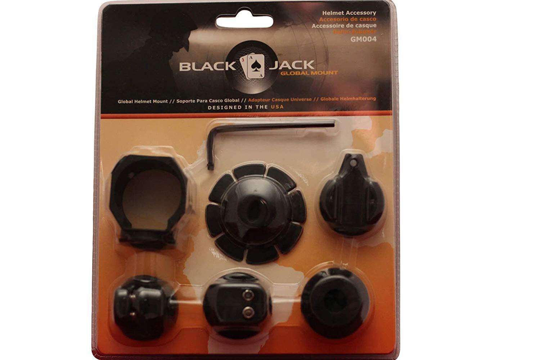 BlackJack Global Mount Firefighter Helmet Flashlight Holder (GM004)