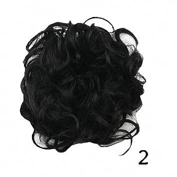 Prettywit Haarteile Kurze Lockige Haar Verlängerung Zubehörchaotisch