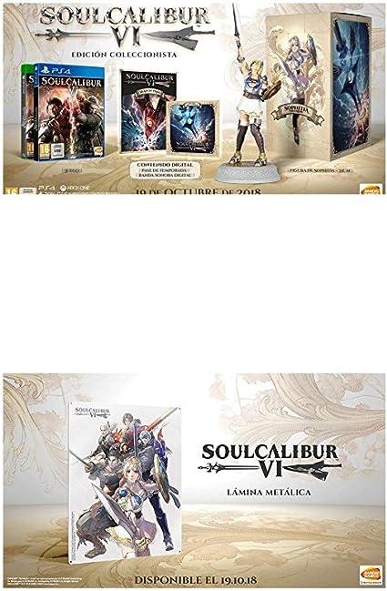 Soulcalibur VI Xbox One - Edición Coleccionista + Lámina Metálica - Preventa: Amazon.es: Videojuegos