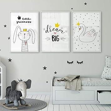 Rabbit Bunny Queen Dream Cartel grande Habitación para niños ...