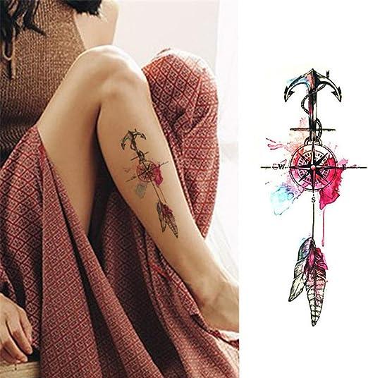 KANKOO Pegatinas de Tatuaje Tatuajes de Transferencia de Agua ...