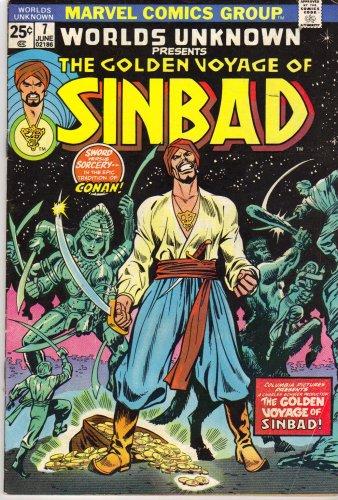 Worlds Unknown Presents the Golden Voyage of Sinbad Vol. 1 No. 7