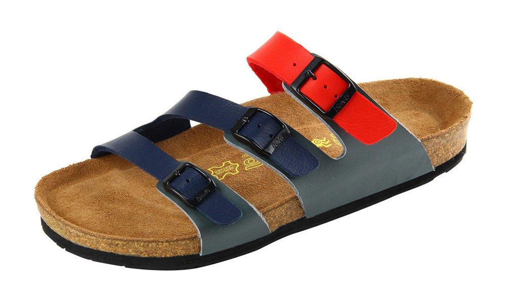Dilize - Sandalias de vestir para hombre 44 EU|rojo/azul