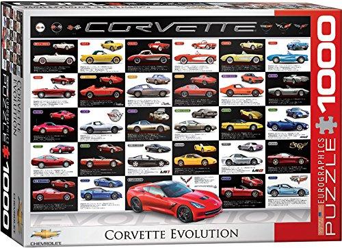 1000 piece puzzles corvette - 1