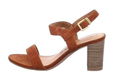 Tamaris Schuhe 1 1 28321 28 Bequeme Damen Sandalette, Sandalen, Sommerschuhe für modebewusste Frau,