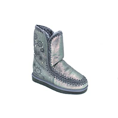 Woz ? Botas Mujeres UP519Z Gris - Chaussures Boot Femme