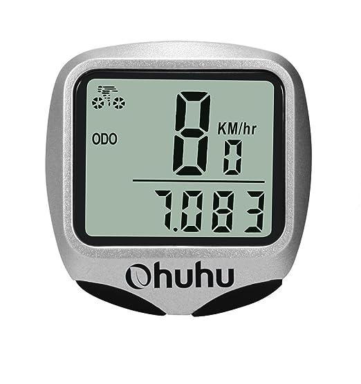 8 opinioni per Ohuhu® Ciclo Computer Digitale Wireless Impermeabile per Bici, Contachilometri