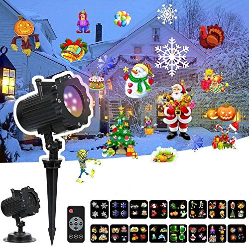 Led 16 Function Motion Christmas Lights in US - 2