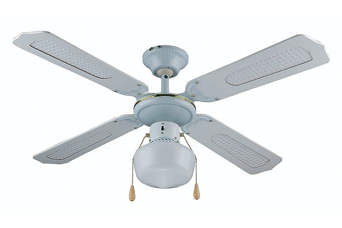 Plafoniere Con Pale : Kooper ventilatore da soffitto con pale cm bianco w