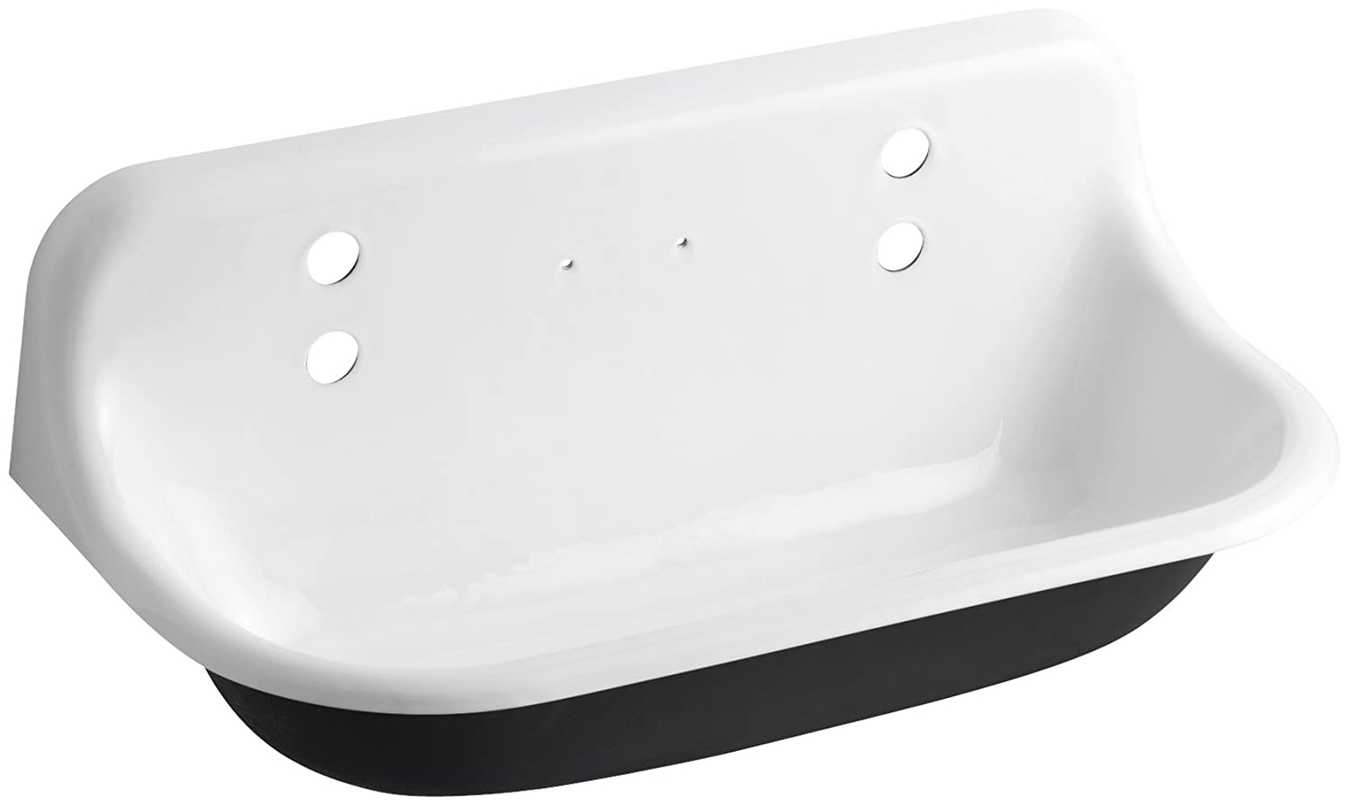 KOHLER K-3200-0 Brockway Wash Sink, White - Single Bowl Sinks ...