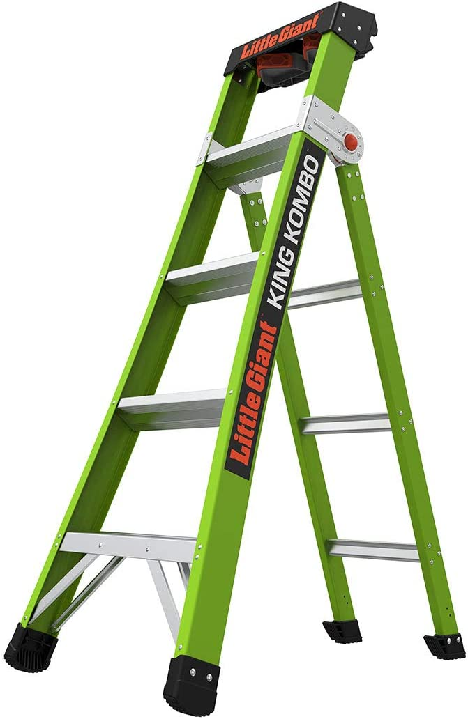 Little Giant Ladder Systems 13580-001 King Kombo Professional 5', verde