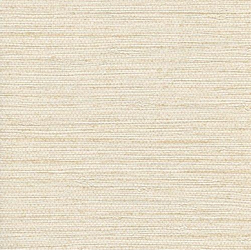 Warner BT44052 White Seagrass Wallpaper ()