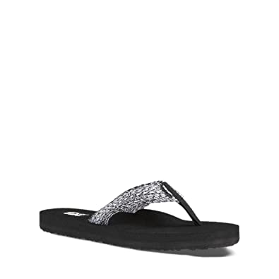 fb912ea458d6 Teva Women s Mush II Sandals (Tiki Black White