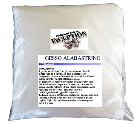 Inception Pro Infinite 3kg Yeso alabastrino Scagliola Adecuado para fundición en moldes de Silicona y más