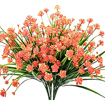 Amazon Artificial Flowers Outdoor Uv Resistant Plants Shrubs