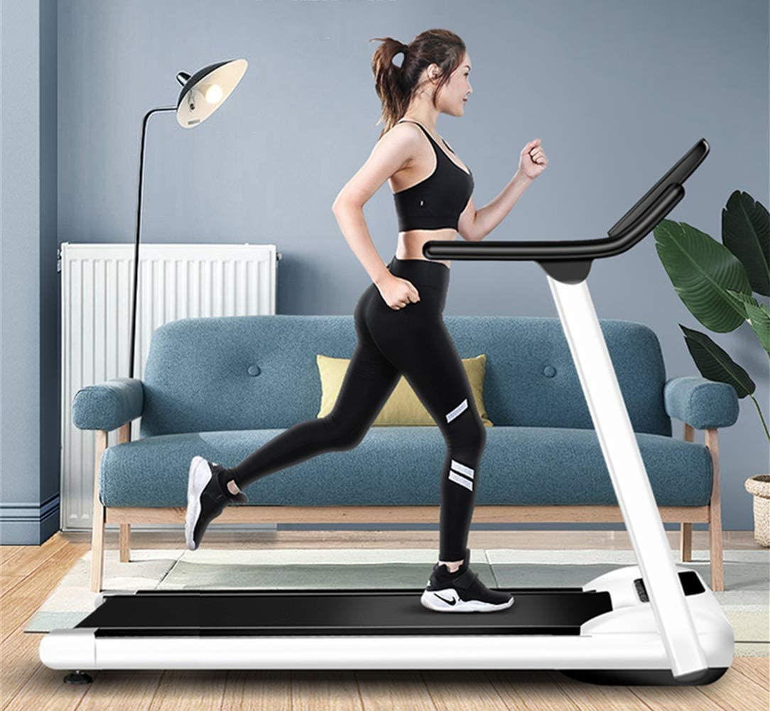 BLRON Home Folding Treadmill with LCD and Tablet Holder,Multi-Functional Mechanical Walking Machine Fitness Equipment.