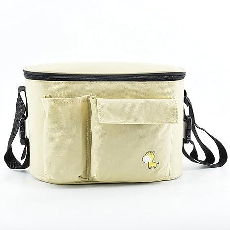 Para colgar organizador de bolsa para carro de carrito calor preservación bebé bebé botella y bolsa