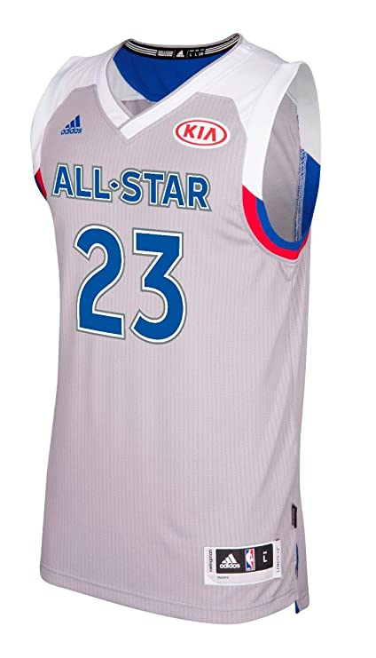 b948f338042 Lebron James Cleveland Cavaliers Adidas 2017 NBA All Star Swingman Jersey