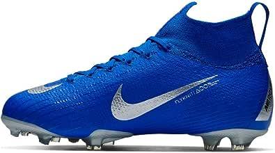 Nike Jr. Superfly 6 Elite FG AH7340-400 Racer Blue/Silver Kids Soccer Cleats