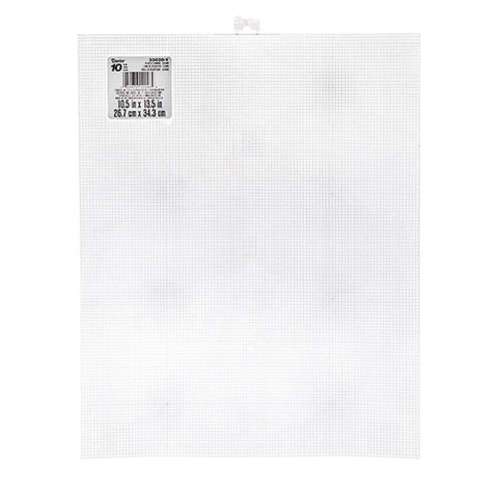 Mesh Plastic Canvas #10 - Rectangle - 10-1/2'' x 13-1/2'' (12 Pack) by Darice